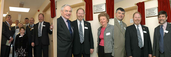 18th March 2005 Official Opening of the Out Patient Unit at Woodlands Hospice by Roger Philips, BBC