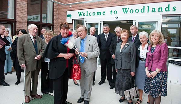 On 6th June 2009 The Inpatient Unit at Woodlands Hospice was opened to patients and on 3rd September 2009 The Inpatient Unit was officially opened by Ken Dodd.