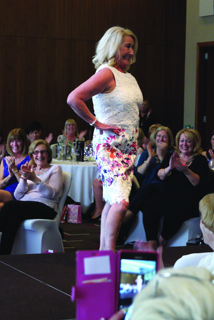 Barbara Williams at Woodlands Hospice Ladies Lunch and Fashion Show