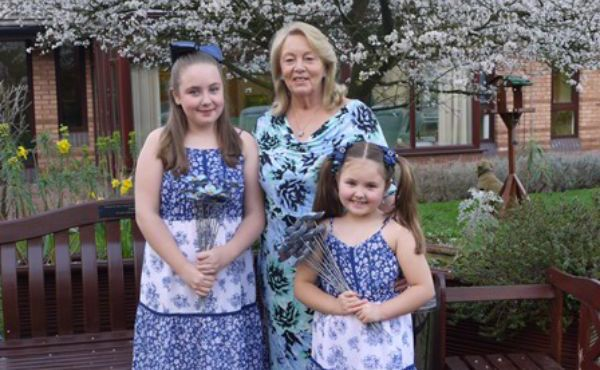 Woodlands Hospice Forget-Me-Not Campaign 2019