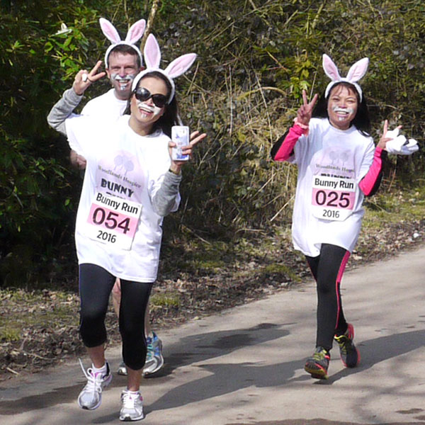 Bunny Run - Woodlands Hospice Fundraising Event