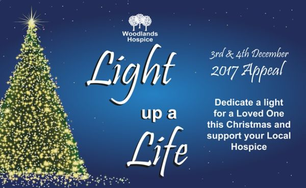 Light up a Life Service at Woodlands Hospice