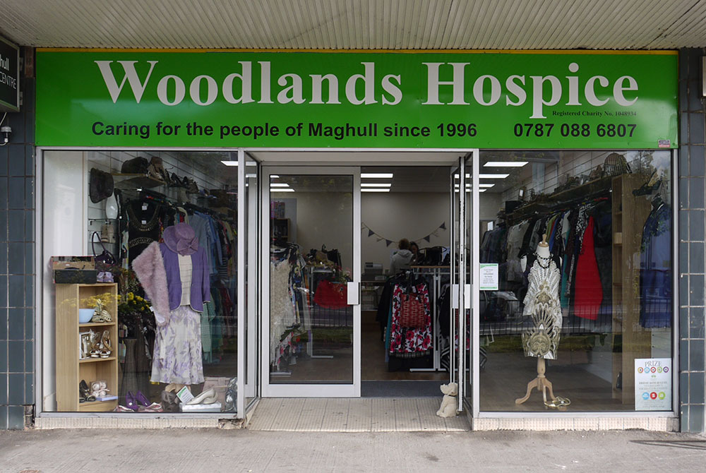 Woodlands Hospice Charity Shop in Maghull