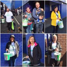 Bucket collection at Everton web