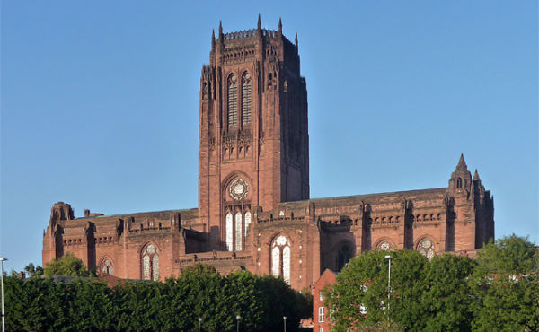Liverpool Cathedral Abseil