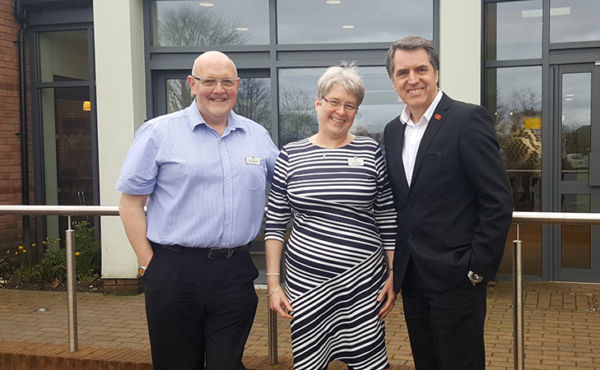Steve Rotheram MP visits Woodlands