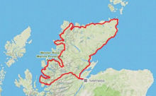 Allens-cycle-route