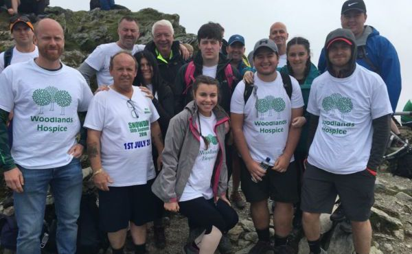 Billy Hughes and family conquer Snowdon again!