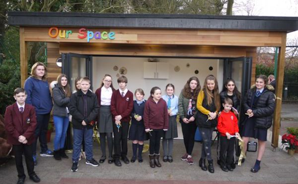 Woodlands opens Children & Young People's Pavilion