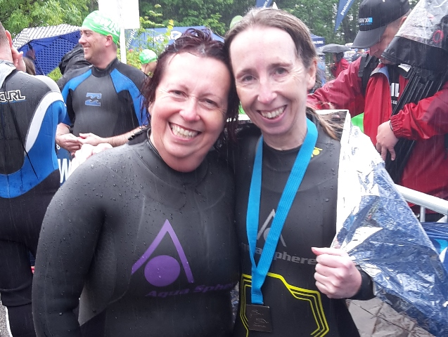 Great North Swim 2017 - Helen & Kathleen