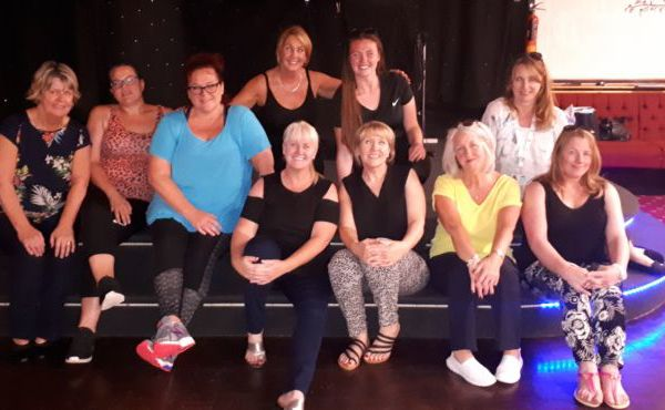 Staff and Volunteers join Strictly for Woodlands