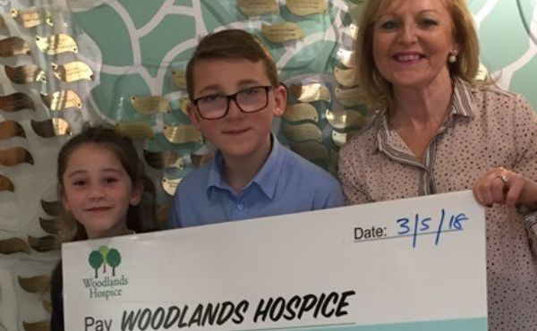 Young fundraisers right on cue for Woodlands!