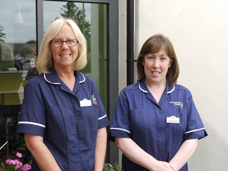 Hospice at Home Coordintors - Carol Mitchell and Catherine Gavin