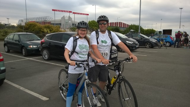 Ian and Emily Shaw - Bike Challenge