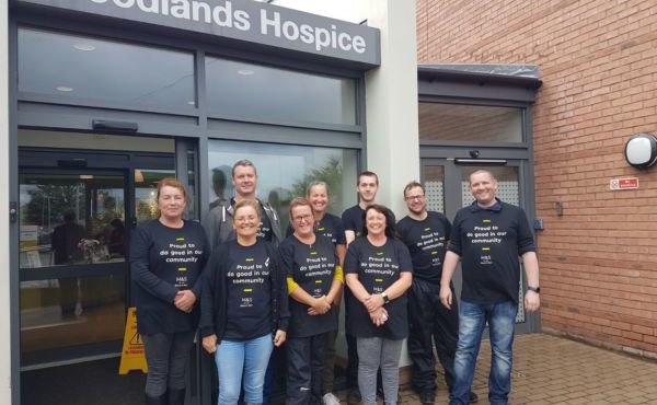 Marks and Spencer Making Every Moment Special at Woodlands Hospice