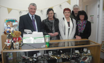 Chairman visits our Charity Shops