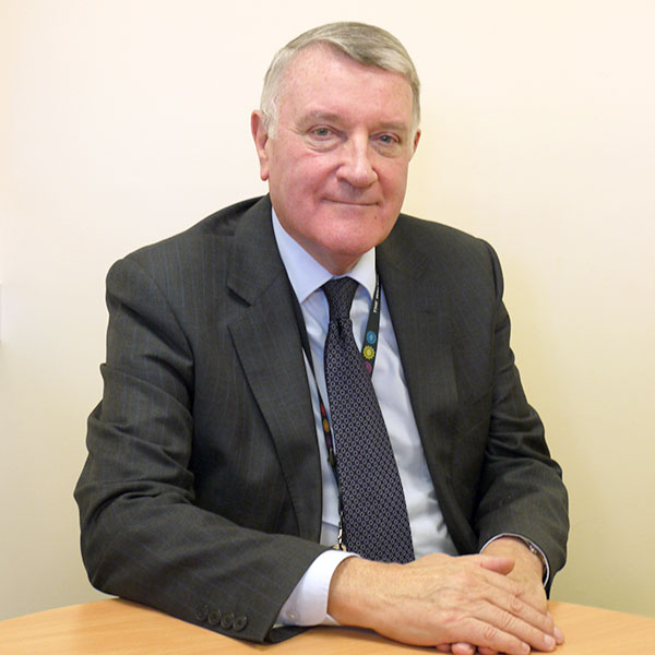 Ken Hoskisson, Chairman of Woodlands Hospice, has been awarded an MBE