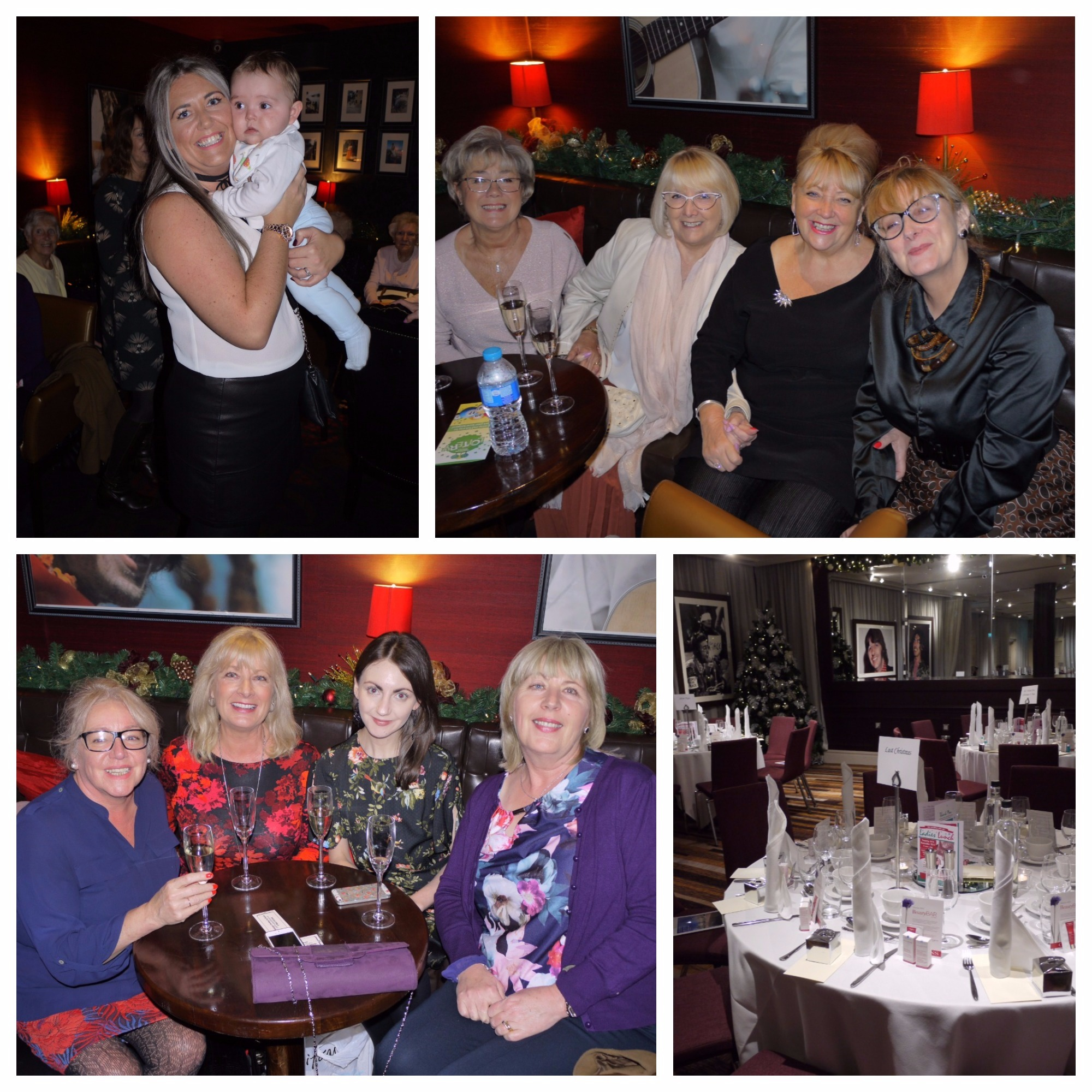 Ladies lunch collage 2