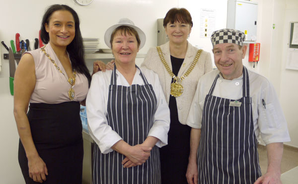 The Lord Mayor of Liverpool visits us