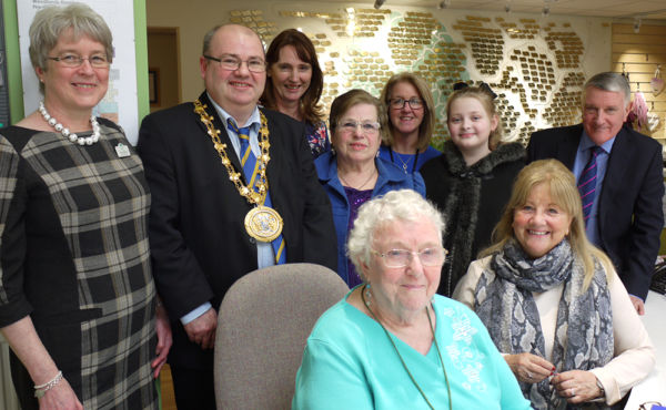Mayor of Knowsley Visits Woodlands Hospice