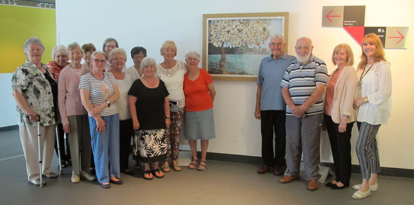 Our Roots, Our Liverpool, Our Journey - Atwork by Woodlands Hospice Bereavement Group in the museum